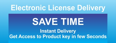 Electronic License Delivery