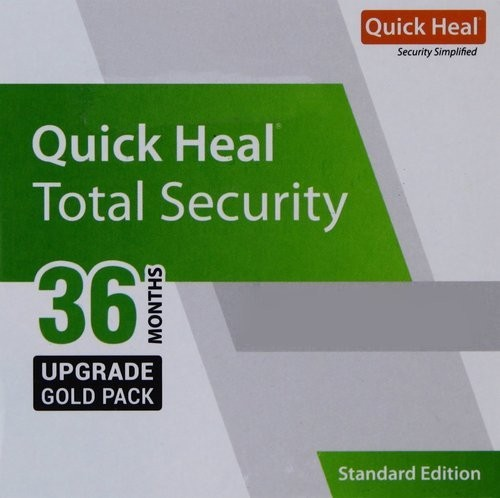 Quick Heal Total Security 10 PC 3 Year Renewal