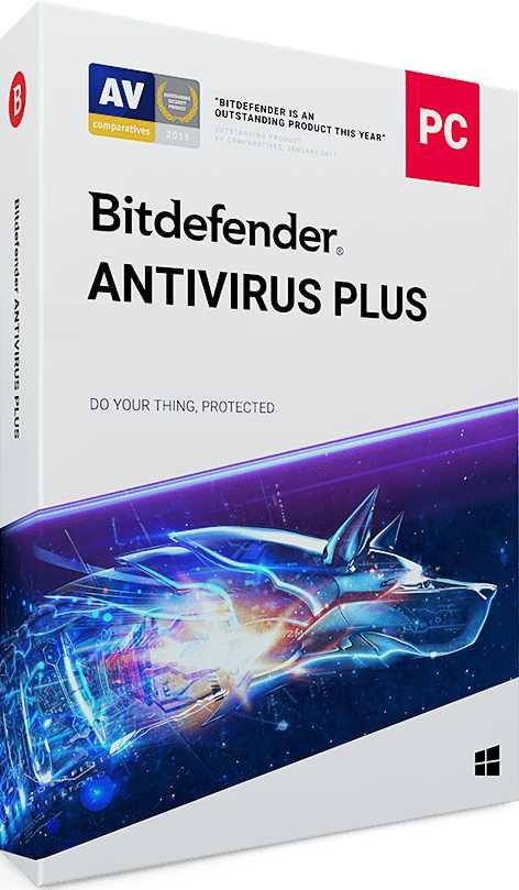 Bitdefender Antivirus 1 PC 1 Year