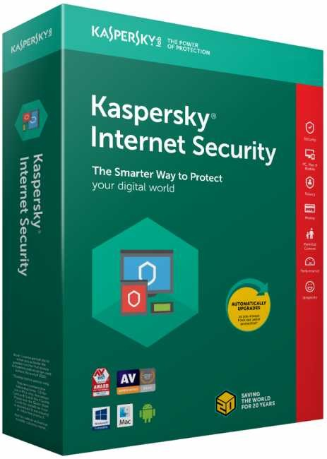 Kaspersky Internet Security 3 Year, 3 PC