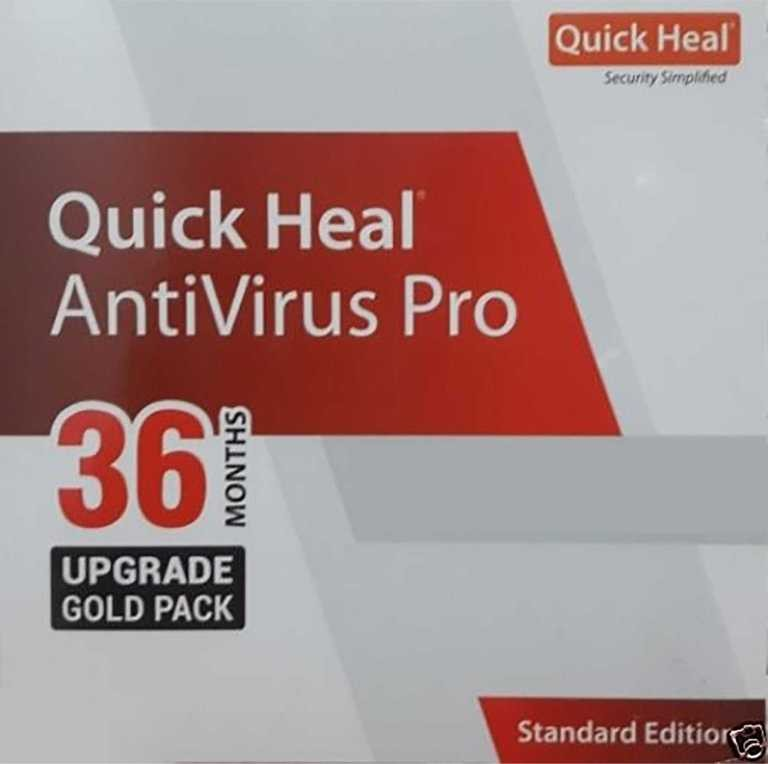 Quick Heal Antivirus 3 Year 1 PC Renewal