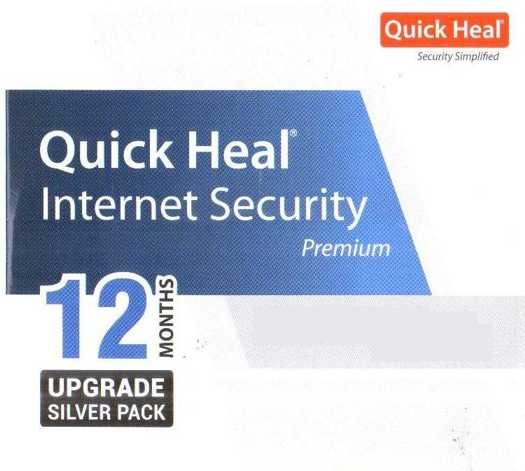 Quick Heal Internet Security 1 PC 1 Year Renewal