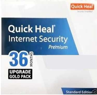 Quick Heal Internet Security 1 PC 3 Year Renewal