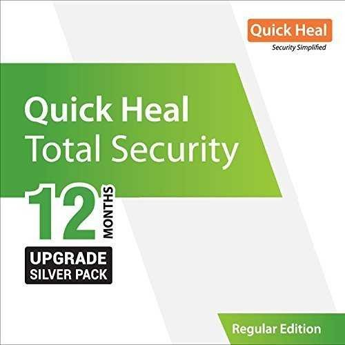 Quick Heal Total Security 1 PC 1 Year Renewal
