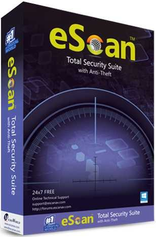 eScan Total Security 1 PC 1 Year