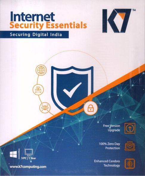 Licence key K7 Total Security 1PC 3Year license Internet Security for 3 years
