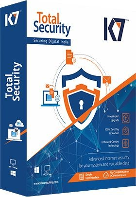 K7 Total Security Plus 5 PC 1 Year