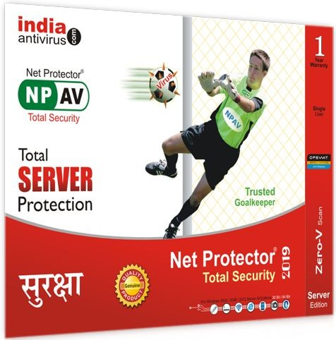 Net Protector Antivirus for Server 1 Year