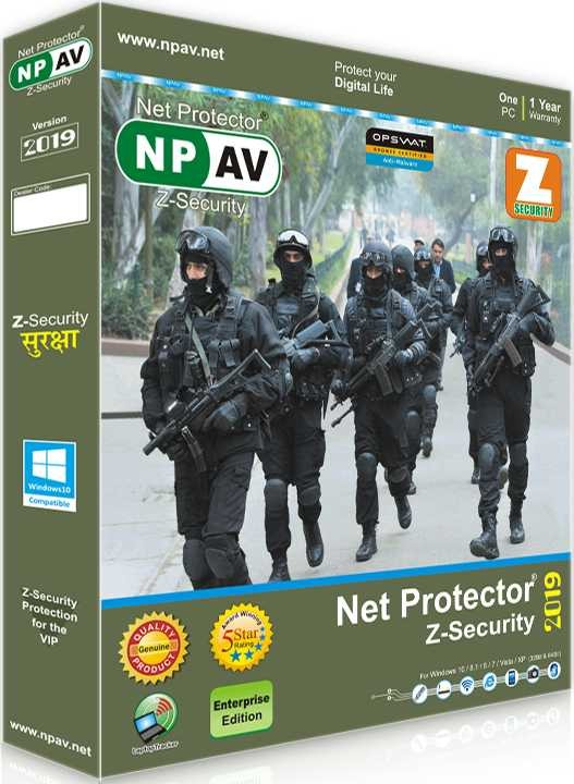 Net Protector Z Security 1 PC 1 Year