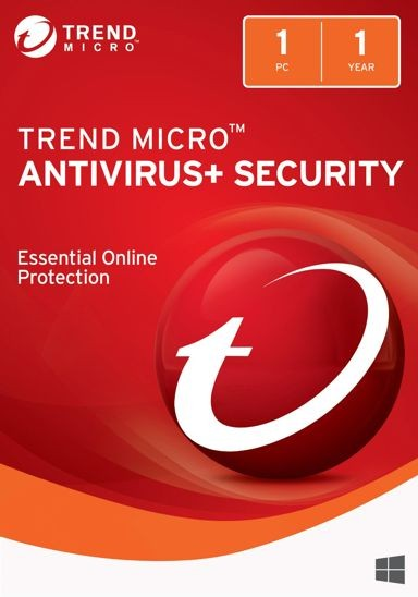 Trend Micro Antivirus 1 PC 1 Year