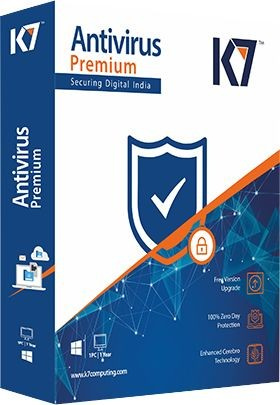 K7 Antivirus Premium 1 PC 1 Year