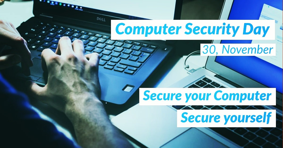 Secure your computer! Secure yourself!