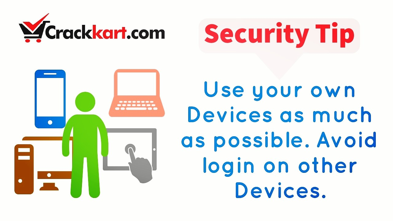 Use your own Devices to login!