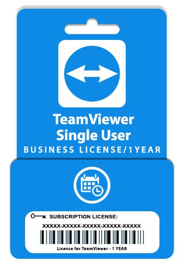 TeamViewer Business Subscription 1 User 1 Year