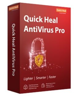 Quick Heal Antivirus 2 PC 1 Year