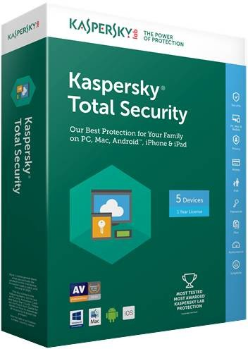 Kaspersky Total Security 1 PC 3 Year