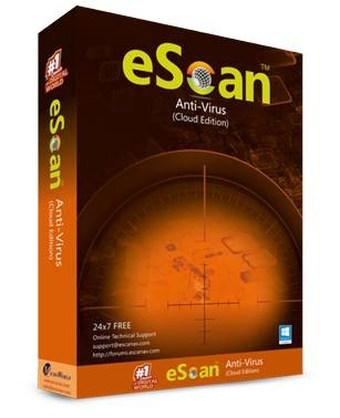 eScan Anti-Virus Cloud Edition 1 PC 1 Year