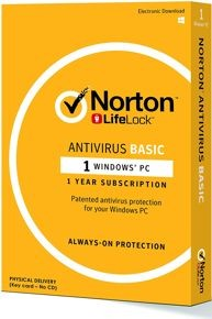 Norton Antivirus Basic 1 Device 1 Year