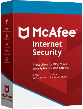 McAfee Internet Security 1 PC 3 Year