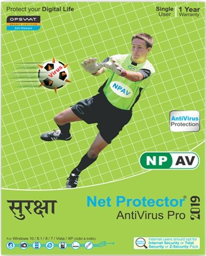 Net Protector Antivirus Pro 1 PC 1 Year