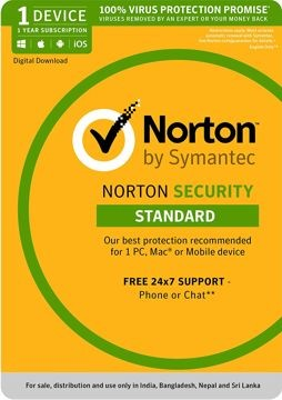 Norton Security Standard 1 Device 1 Year